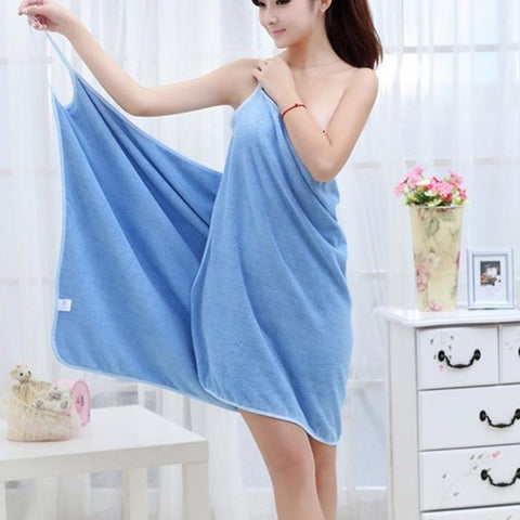 Wearable Towel Dress
