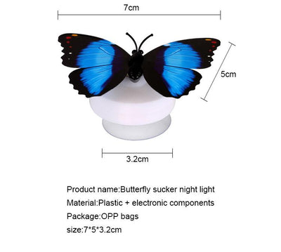 10-Piece Butterfly LED Light
