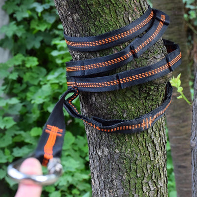 Hammock Straps with Adjustable Loops