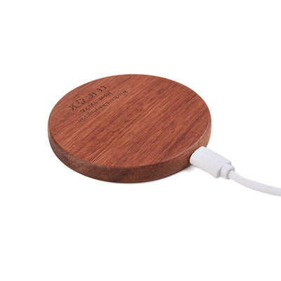 BoostRack™ Wooden Portable Charger