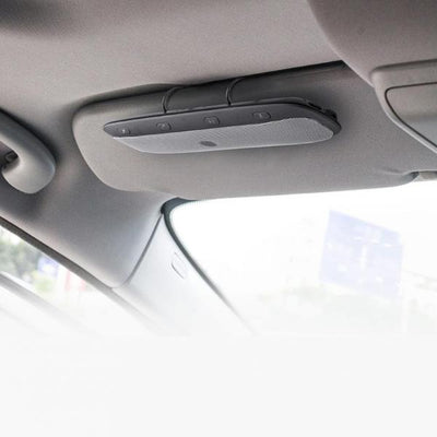 Car Sun Visor Bluetooth Speaker