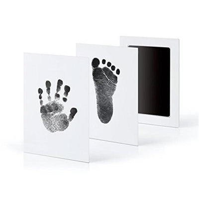 Baby Hand And Footprint Photo Frame Kit Nice Stuff Co