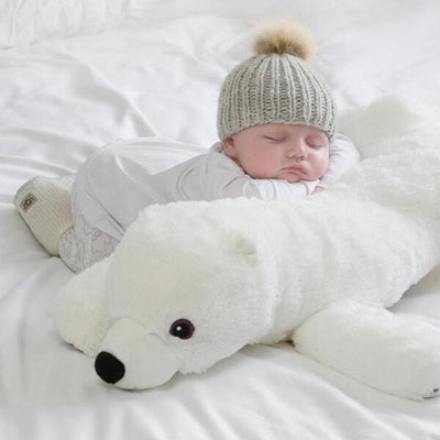 Polar Bear Plush Pillow
