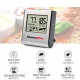 Meat Thermometer With Built-in Clock Timer