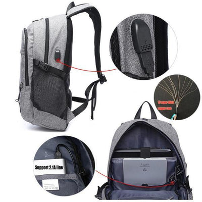 Sports Backpack With Detachable Net