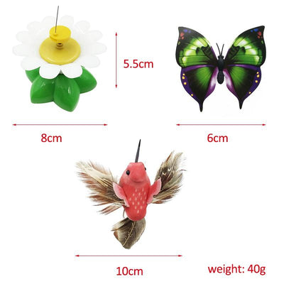Butterfly/Bird Toy For Cats