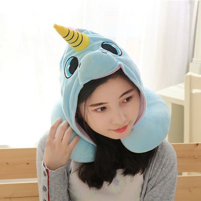 Unicorn Neck Pillow