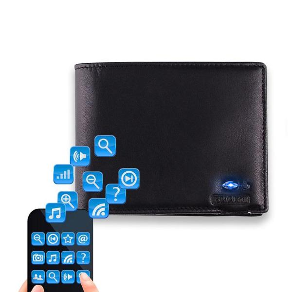 Anti-theft Bluetooth Wallet