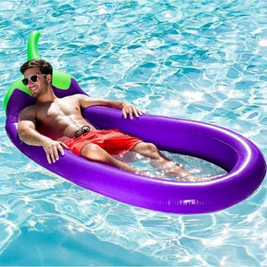 Inflatable Eggplant Lounge Chair