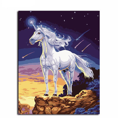 Unicorn Oil Painting Wall Art