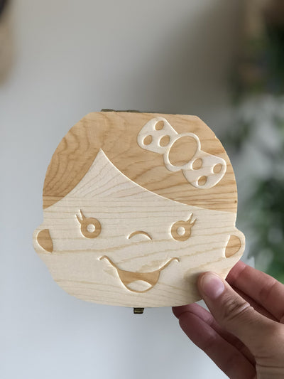 Baby Tooth Box and Tooth Holder