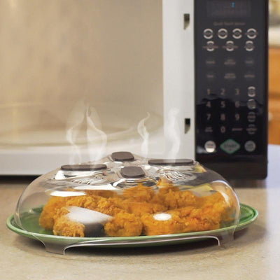 Microwave Magnetic Splatter Hover Cover