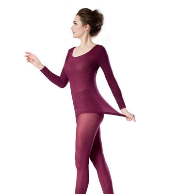 Sexy Thermal Underwear Set For Women
