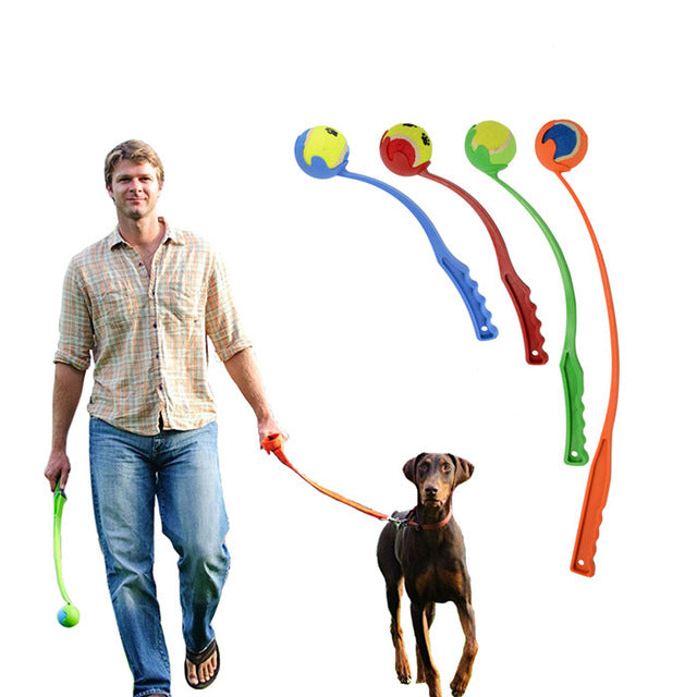 HappyPaws™ Dog Tennis Ball Launcher