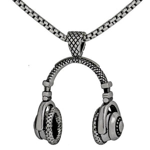 Hip-hop Headphones Necklace