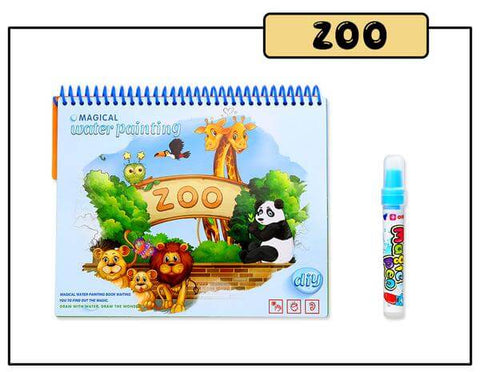 JuniorEinstein™ Animal Magic Coloring Book
