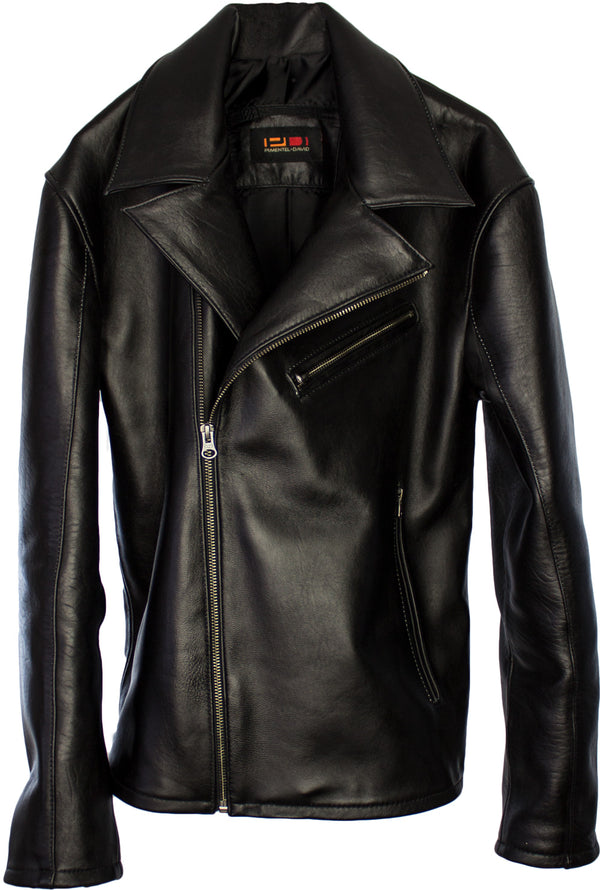 Rebel Leather Jacket Black Lamb
