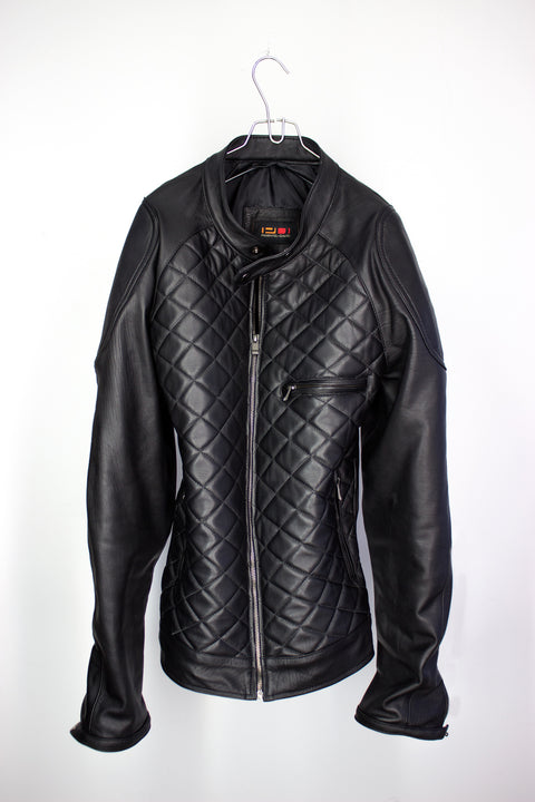 Prototype #3 Leather Jacket in Black Calfskin -