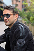 R80 HERITAGE Leather Jacket -  Black on Black