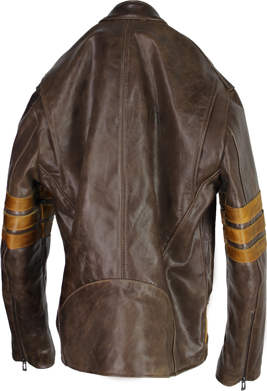 LOGAN Leather Jacket Distressed Brown - 1st Edition - PDCollection Leatherwear - Online Shop