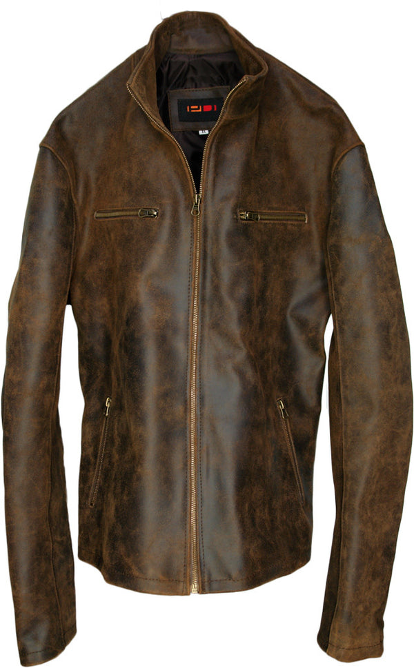 R91 Leather Jacket Aged Leather
