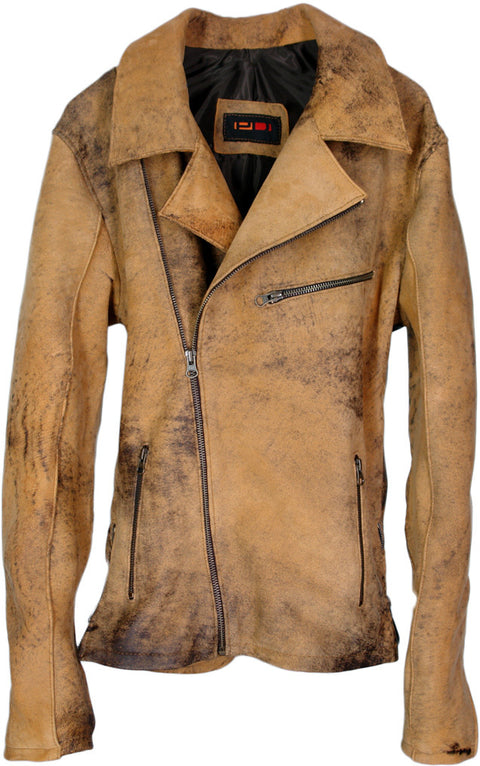 REBEL Buckhaven Leather Jacket Tan - Limited Edition