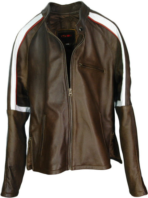 2W WAR OF WORLDS Leather Jacket Brown Edition - Tom Cruise