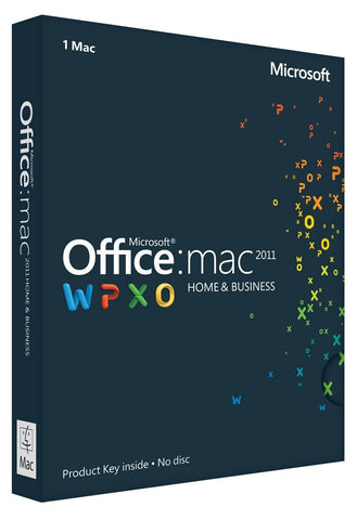 Microsoft Office 2011 Home & Business for 3 MAC User-Retail-key4good