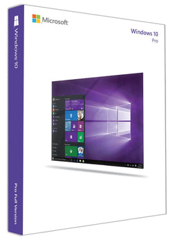 Windows 10 Professional 1 PC 32bit/64bit-Retail-key4good