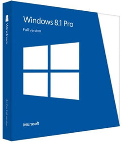 Windows 8.1 Professional 1 PC 32bit/64bit-Retail-key4good