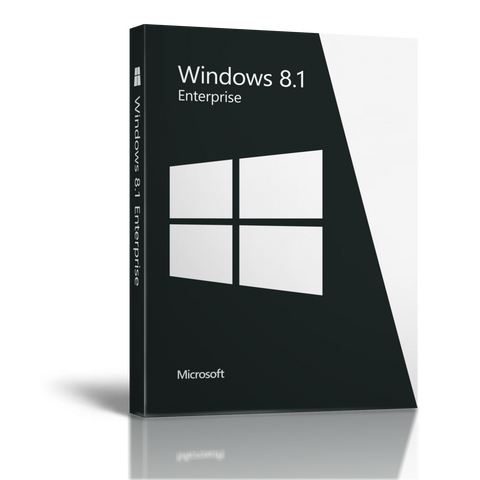 Windows 8.1 Enterprise 10 PCs 32bit/64bit-Retail-key4good