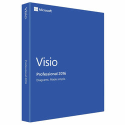 Microsoft Visio Professional 2016 for 1 PC Device-Retail-key4good