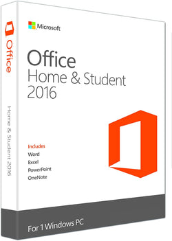 Microsoft Office 2016 Home & Student for 1 Windows PC-Retail-key4good