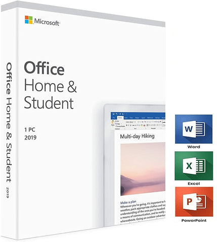 Microsoft Office 2019 Home & Student for 1 Windows PC-Retail-key4good