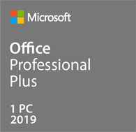 Microsoft Office Professional Plus 2019 for 1 PC 32bits/64bit-Retail-key4good