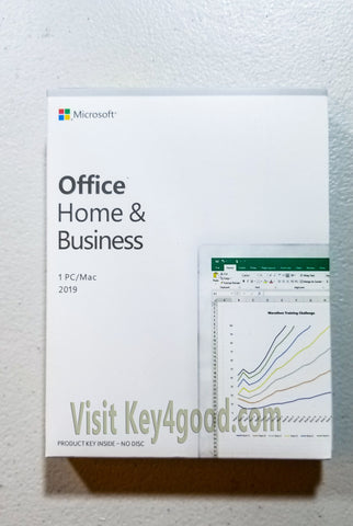 Microsoft Office 2019 Home and Business for Mac/PC Retail Package [Wholesale]-Wholesale-key4good