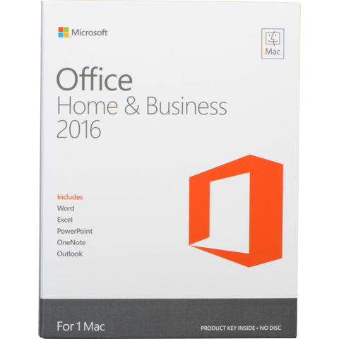 Microsoft Office 2016 Home & Business for 1 MAC User-Retail-key4good