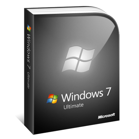 Windows 7 ultimate 1 PC 32bit/64bit-Retail-key4good