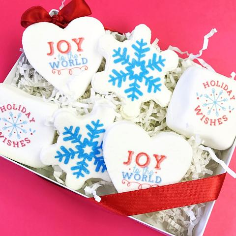 Imagemallow® Gift Set - Joy to the world, set of 6