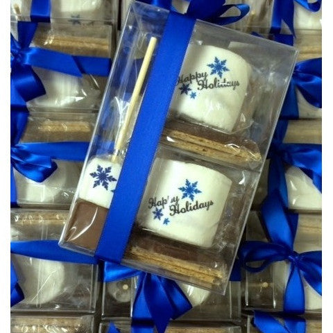 Custom S'more Gift Set - With Hot Chocolate Sticks