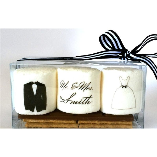 S'more Favor - Custom Bride & Groom