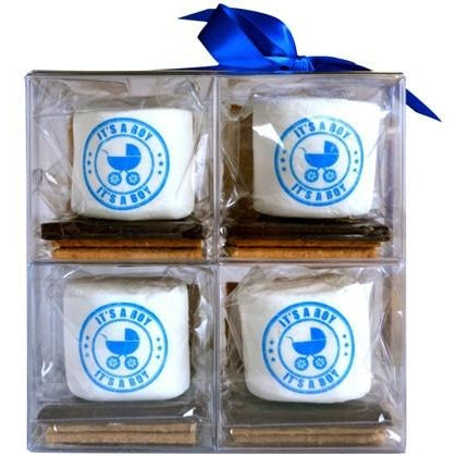 S'more Gift Set - It's A Boy!, Set of 8