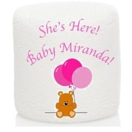 ImageMallows®- Jumbo, Custom Baby