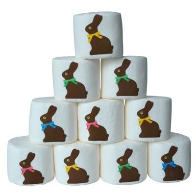 ImageMallows®- Jumbo, Easter with Chocolate Bunny