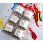 DoodleMallows™ Color Your Own Mallows S'mores Gift Set - Birthday