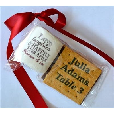 Custom S'more Kit - Logo/Design & Custom Printed Card Grahams