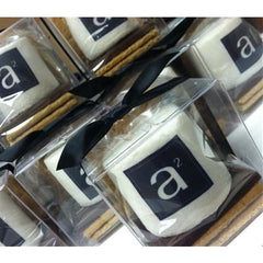 Custom S'more Kit - Logo/Design, Gift Set of 6