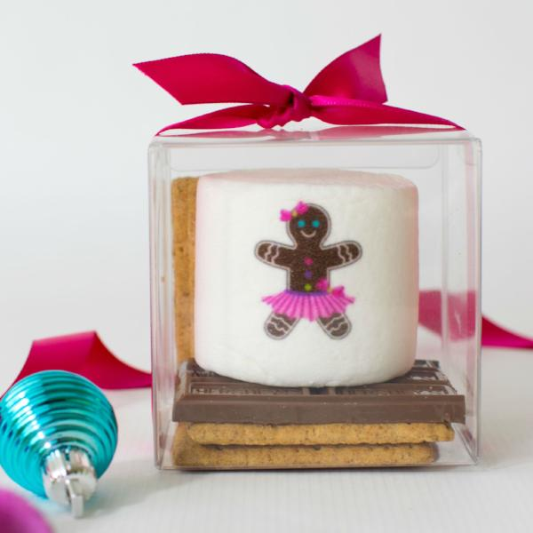 Custom S'more Kit, Gingerbread Guy/Girl Contemporary