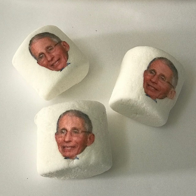 Dr. Fauci ImageMallow Marshmallows