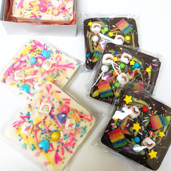 Chocolate Bark Slab - Unicorn